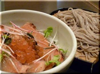 そじ坊(千葉)-炙り鮭の親子丼定食2.JPG