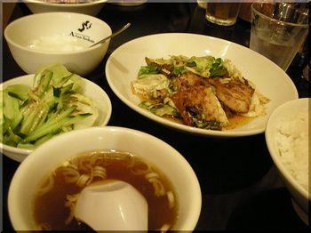 アジアン食房(平塚)-シングルセット(回鍋肉)2.JPG