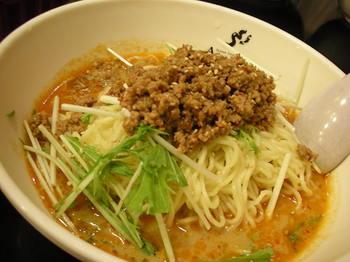 アジアン食房(平塚)-冷し担々麺1.JPG