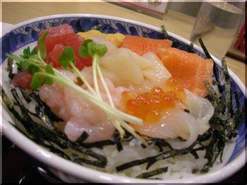 ザ・どん(札幌)-海の幸よくばり丼1.JPG