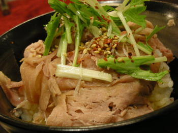 中村屋(海老名)-焼豚のたたき飯.JPG