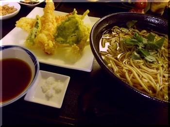 手打ち蕎麦和ぉー(平塚)-海老天そば2.JPG