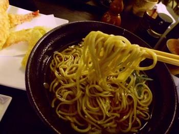 手打ち蕎麦和ぉー(平塚)-海老天そば3.JPG