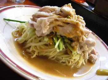 日進月歩(厚木)-バンバンジー冷麺1.JPG