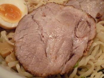 明かり家(厚木)-チャーシューつけ麺4.JPG