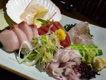 魚炭(厚木)-刺身5種盛.JPG